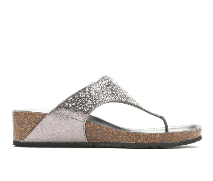 08f7b705e Women  39 s Italian Shoemakers Heisy Wedge Sandals