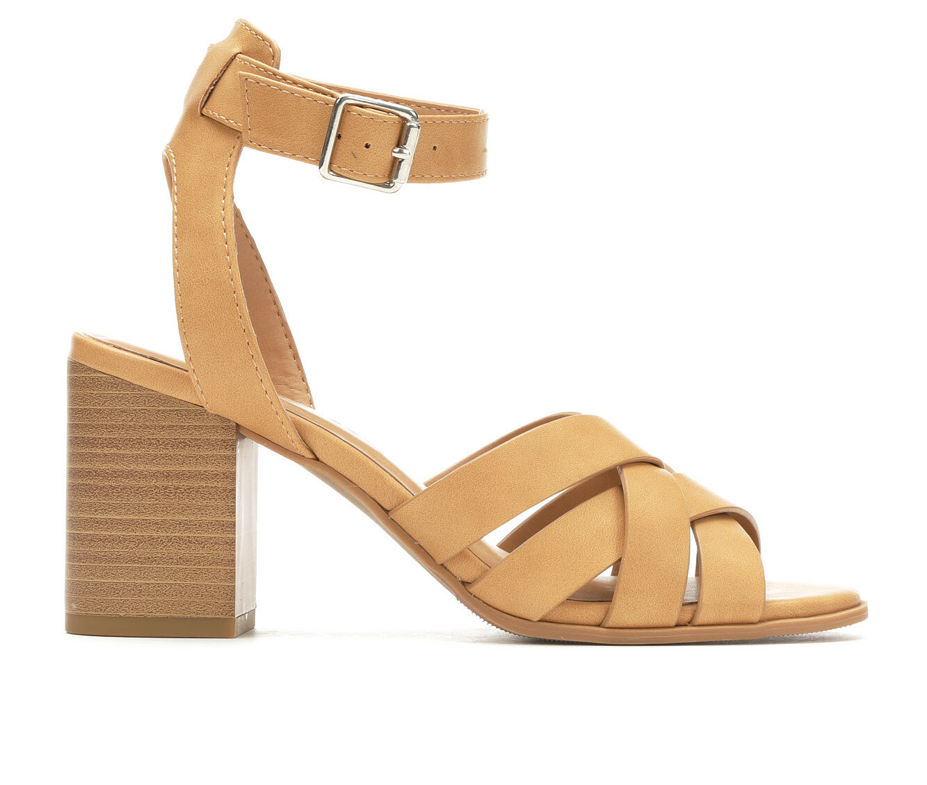 a huge selection of Women's City Classified Login Strappy Heeled Sandals Natural