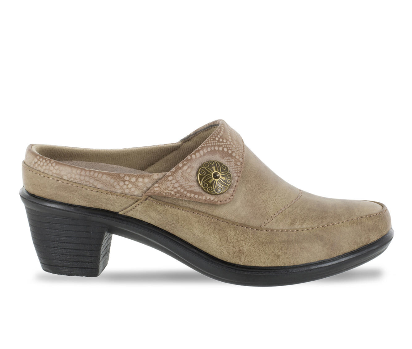 Women's Easy Street Journey Shoes Taupe/Embossed