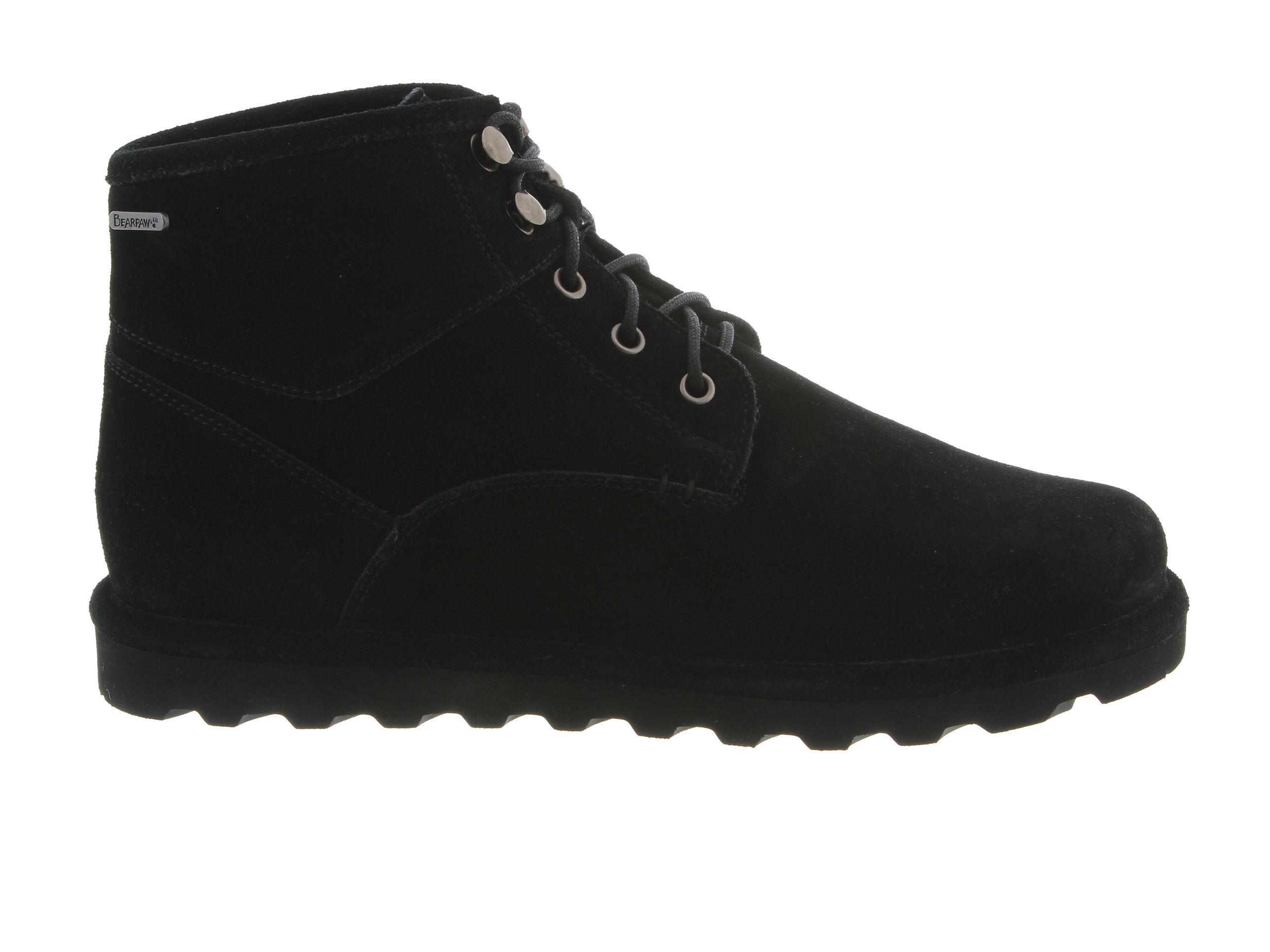 Classic Fit Men's Bearpaw Rueben Chukka Boots Black