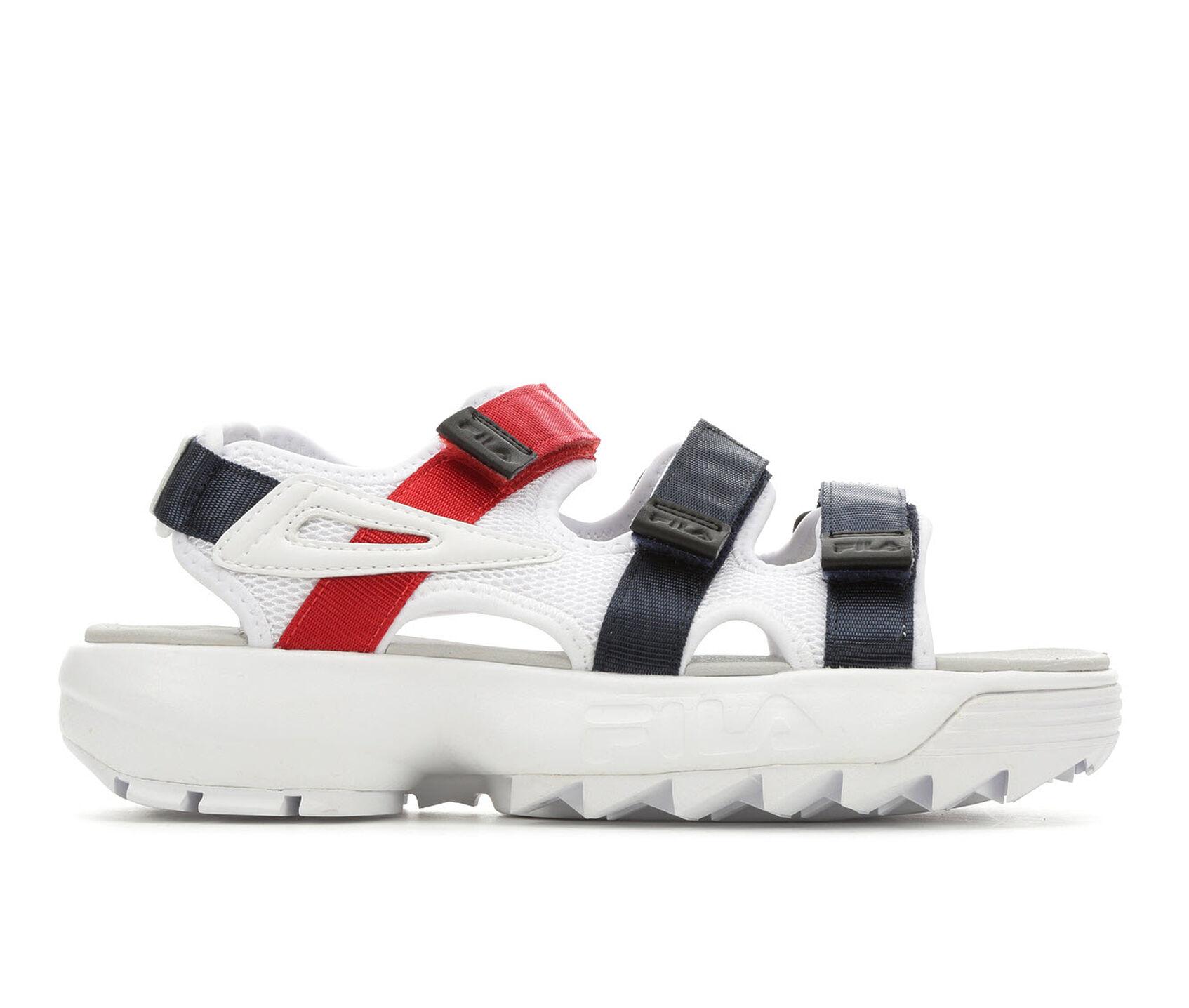 super promocje w sprzedaży hurtowej buty na tanie Women's Fila Disruptor Sandal Flatform Sandals