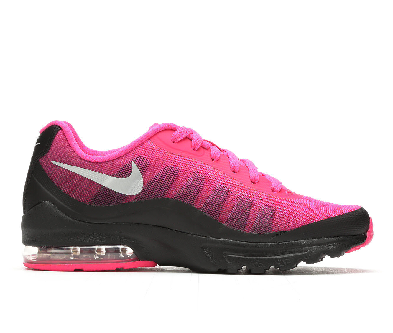 Excellent Quality Women's Nike Air Max Invigor Print Athletic Sneakers Black/Pink