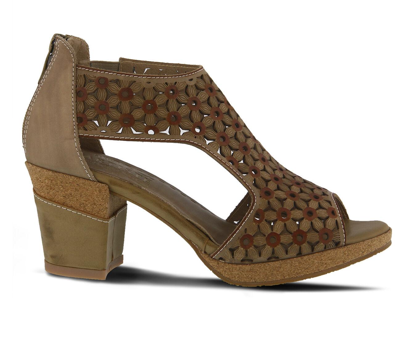 get cheap authentic Women's L'ARTISTE Hibiskus Dress Sandals Taupe
