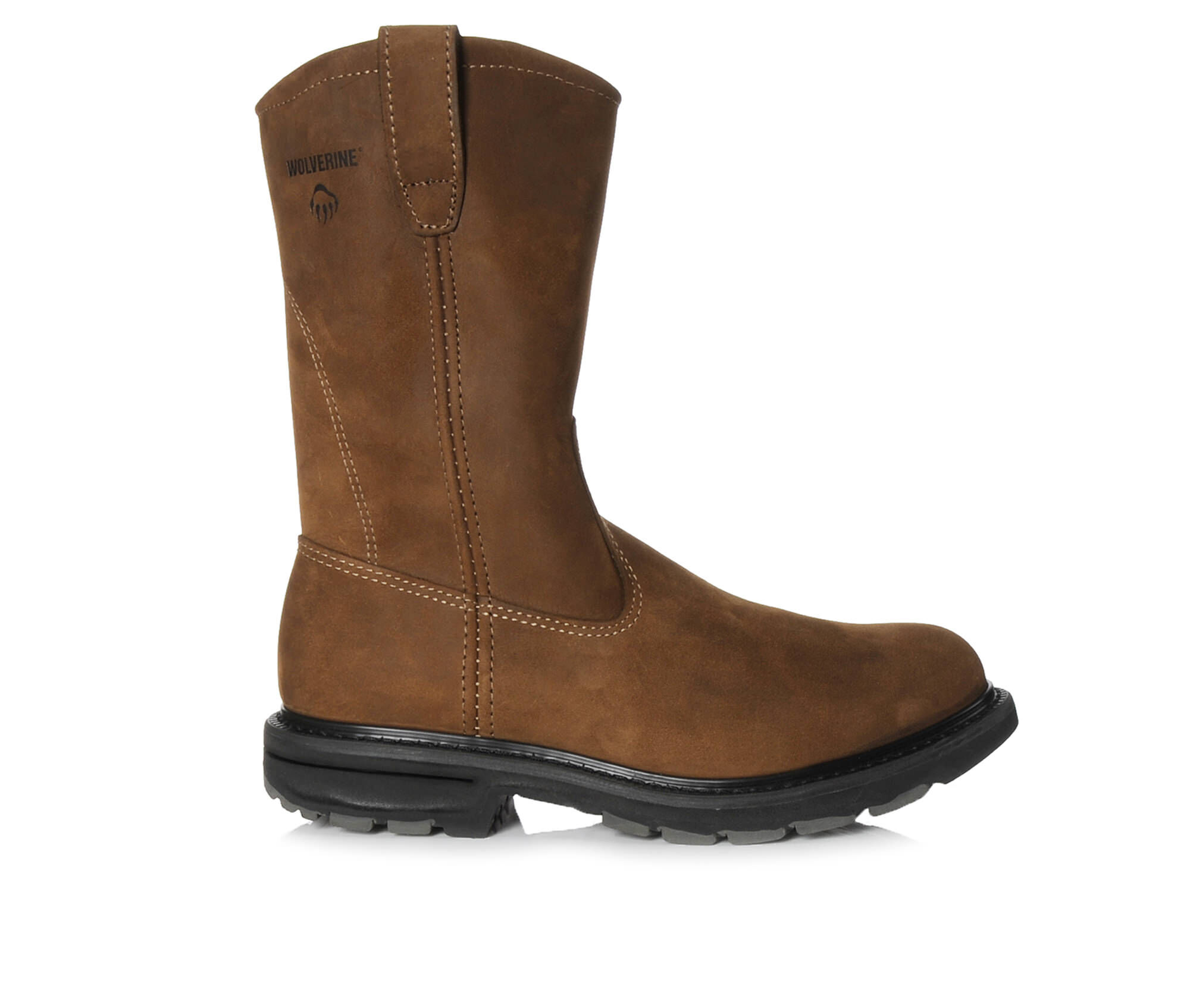 Images Mens Wolverine Wellington 10 In 4727 Work Boots