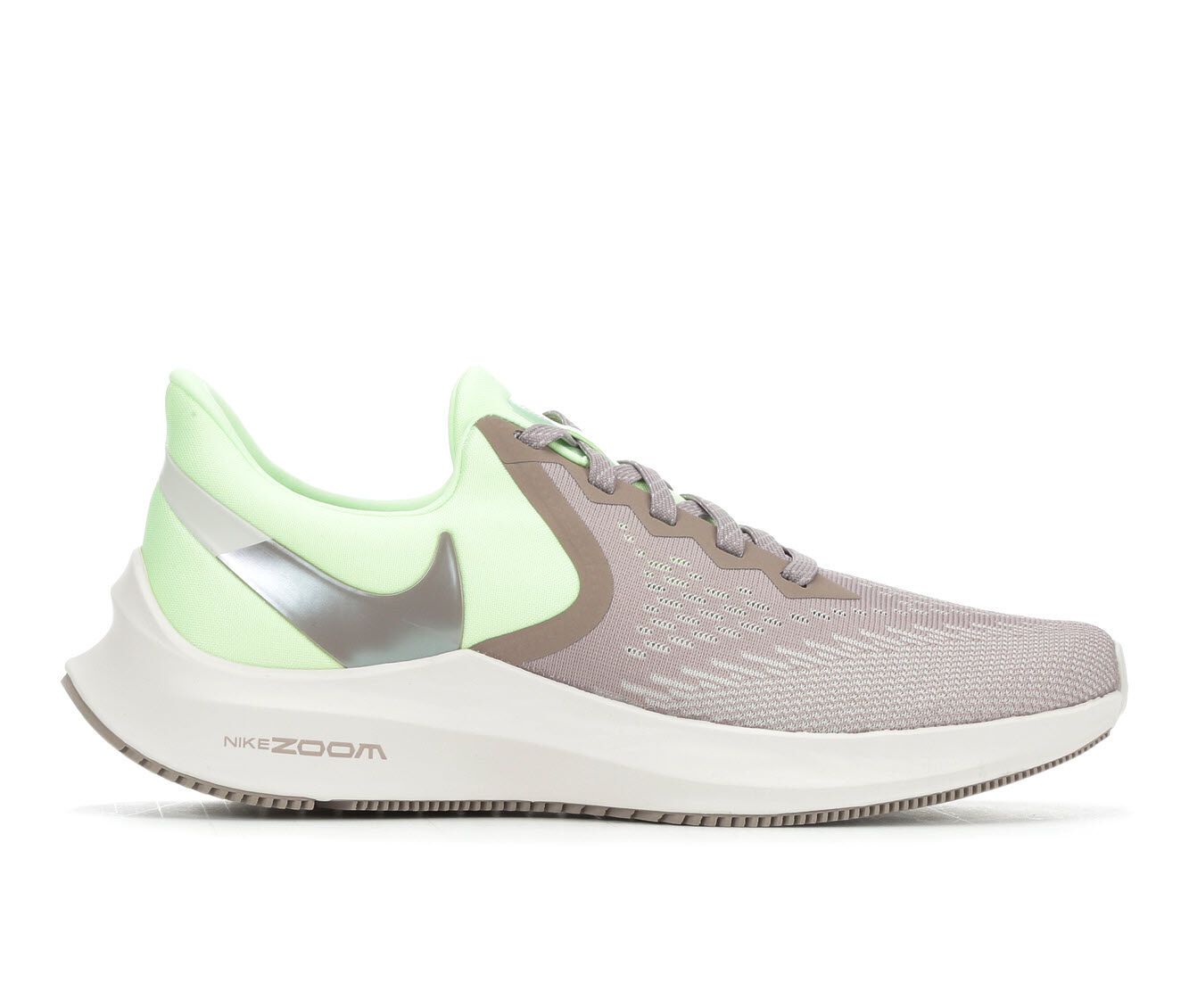 cheapest new style Women's Nike Zoom Winflo 6 Running Shoes Volt/Pumice