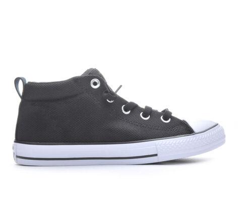 Kids' Converse CTAS Street Mid Basketweave 10.5-6 High Top Sneakers