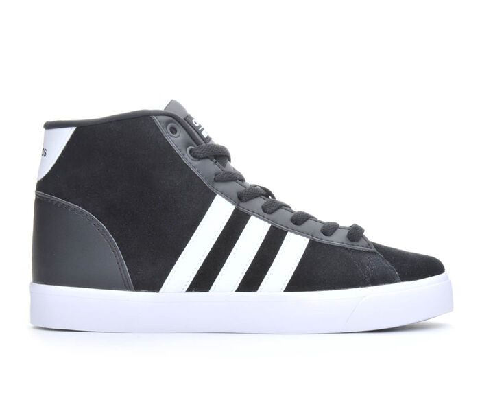 Women's Adidas Cloudfoam Daily QT Mid High Top Sneakers