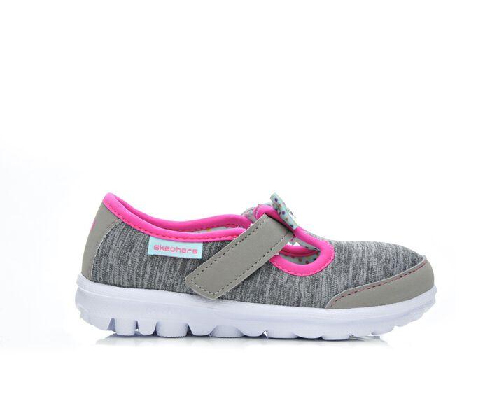 Girls' Skechers Go Infant GO Walk Bitty Bow 5-12 Shoes