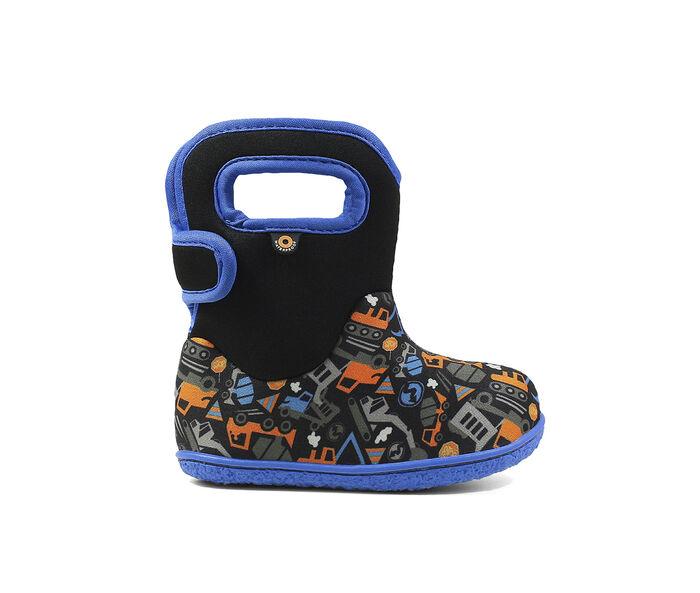 Boys' Bogs Footwear Toddler Construction Rain Boots