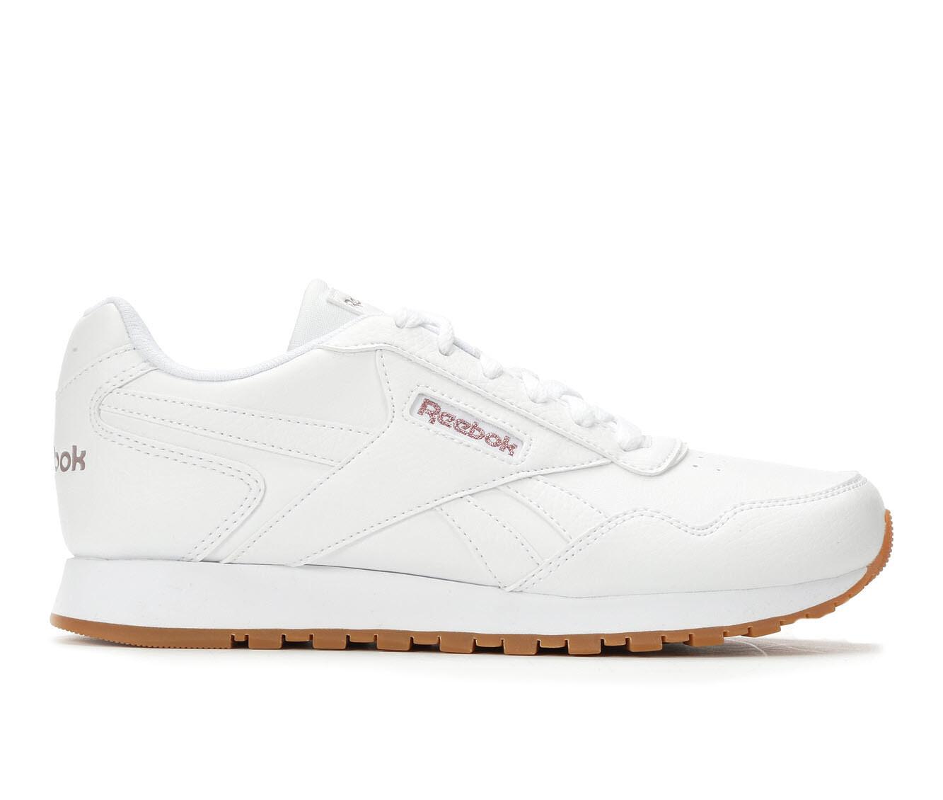all styles Women's Reebok Classic Harman Run Retro Sneakers White/Rose/Gum