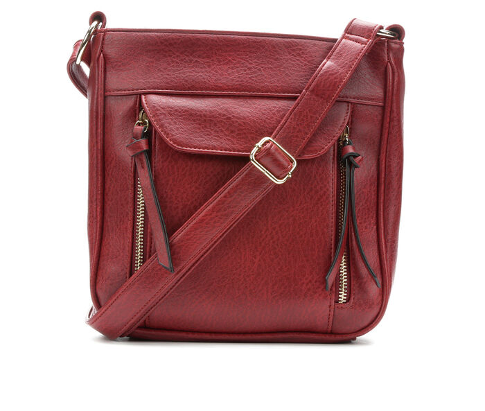 Bueno Of California Elephant Pebble Crossbody Handbag