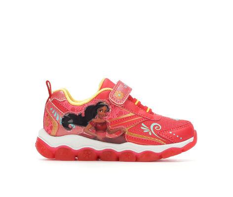 Girls' Disney Princess Elena of Avalor 6-12 Light-Up Velcro Sneakers