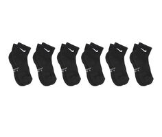 Nike Kids 6 Pr Everyday Cushion Quarter Socks
