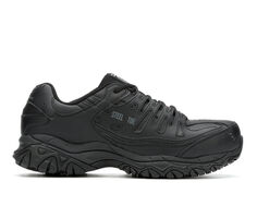 Men's Skechers Work Keymar Steel Toe Waterproof 77517 Work Shoes