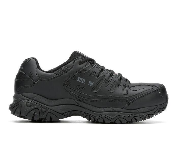 Men's Skechers Work Keymar Steel Toe Waterproof 77517 Work Shoes