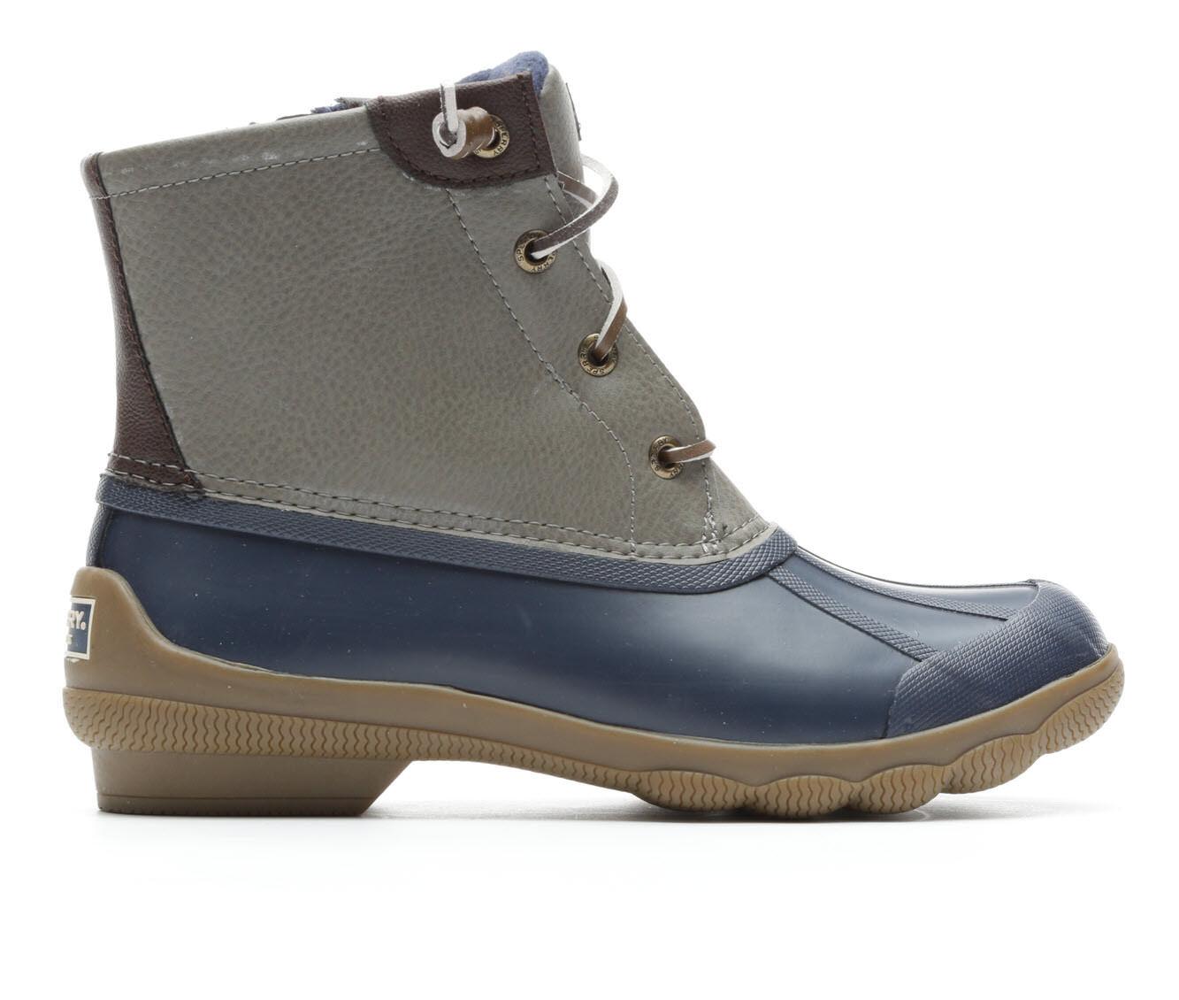 Women's Sperry Syren Gulf Duck Boots Dark Grey/Navy