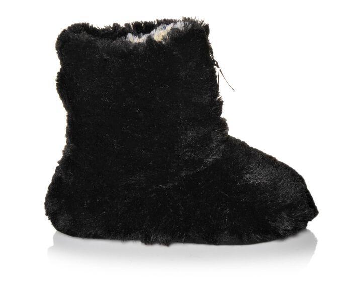 Women's Dearfoams Pile Boot w/Zipper Slipper
