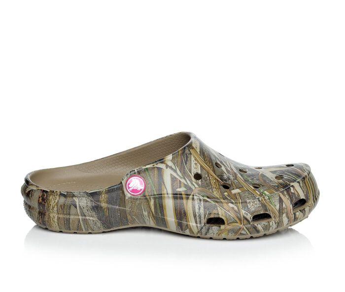 Women's Crocs Freesail Realtree Mules