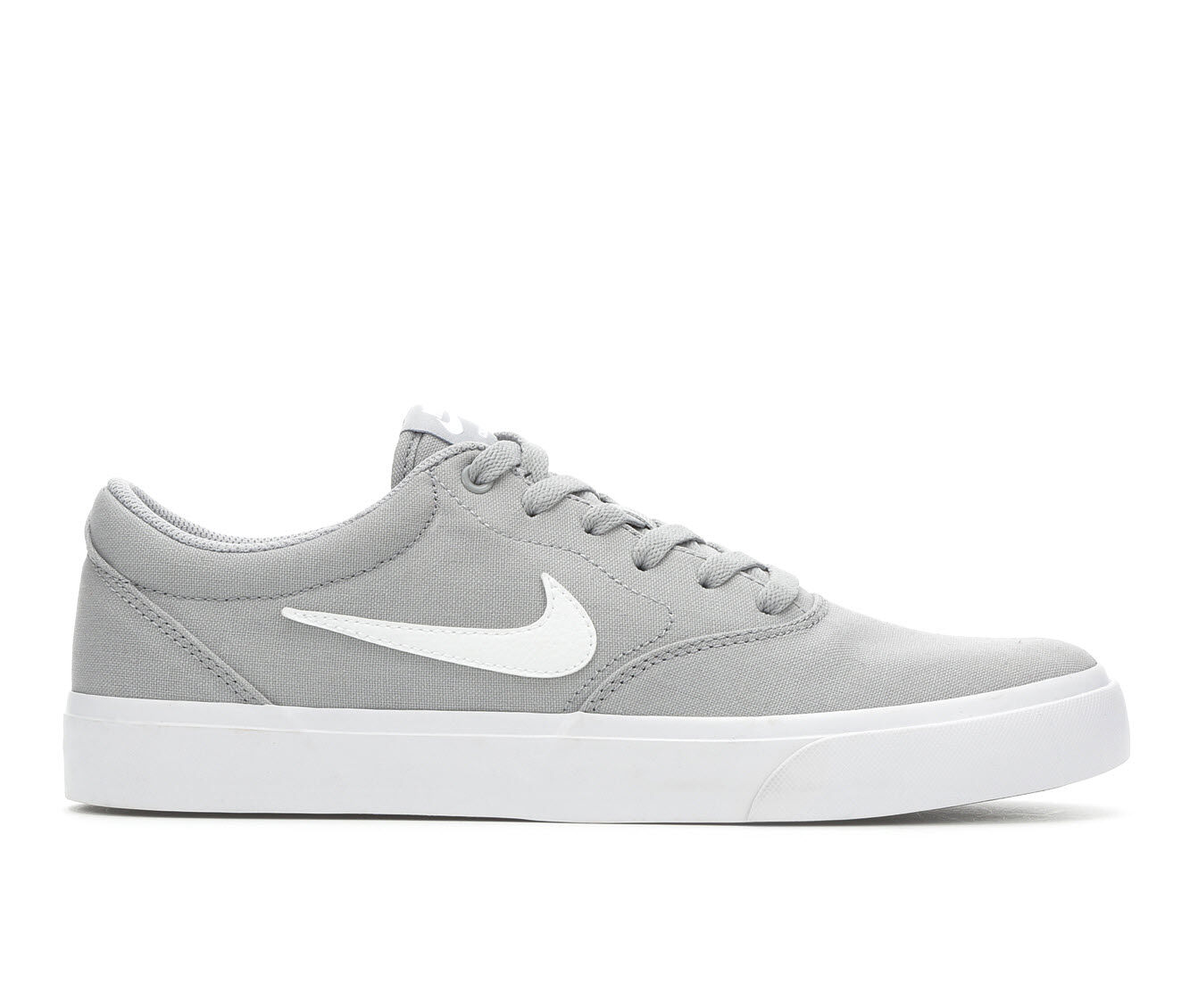 Men's Nike SB Charge Skate Shoes Gry/Wht 003