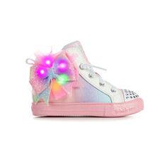 Girls' Skechers Toddler & Little Kid Shuffle Lite Lil Rainbow Dust Light-Up Sneakers