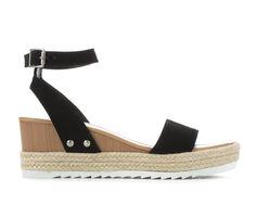 Women's Soda Polar Platform Wedge Sandals