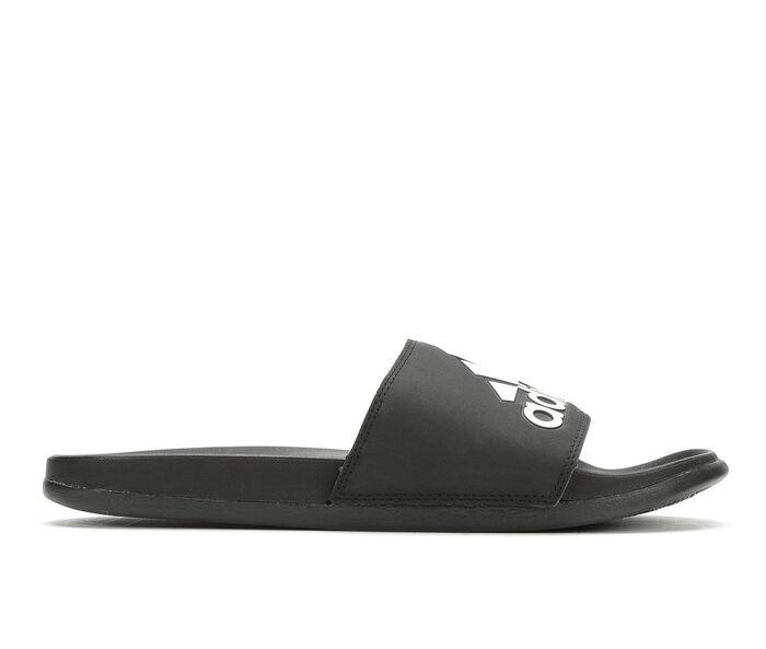 Men's Adidas Adilette Cloudfoam + Logo Sport Slides