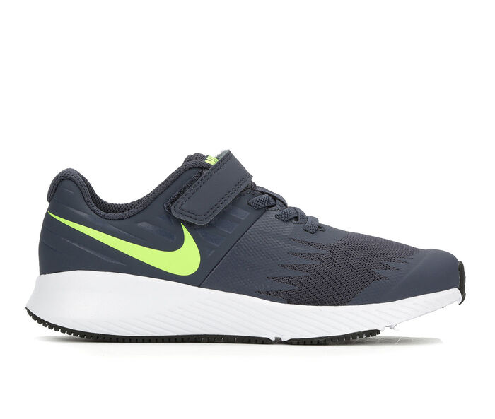 Boys' Nike Star Runner PS Velcro 10.5-3 Running Shoes