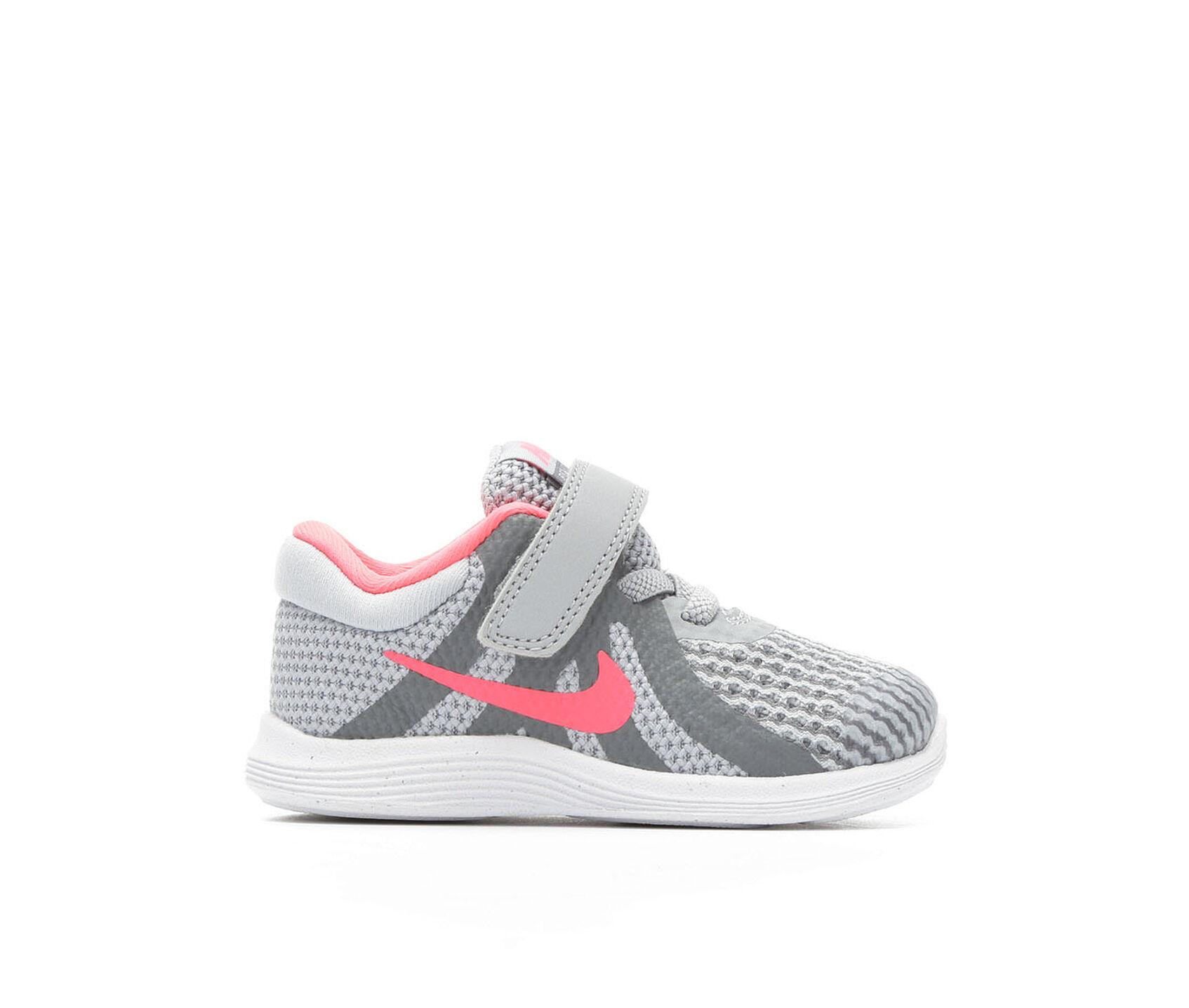 Girls Nike Infant Revolution 4 Girls Running Shoes