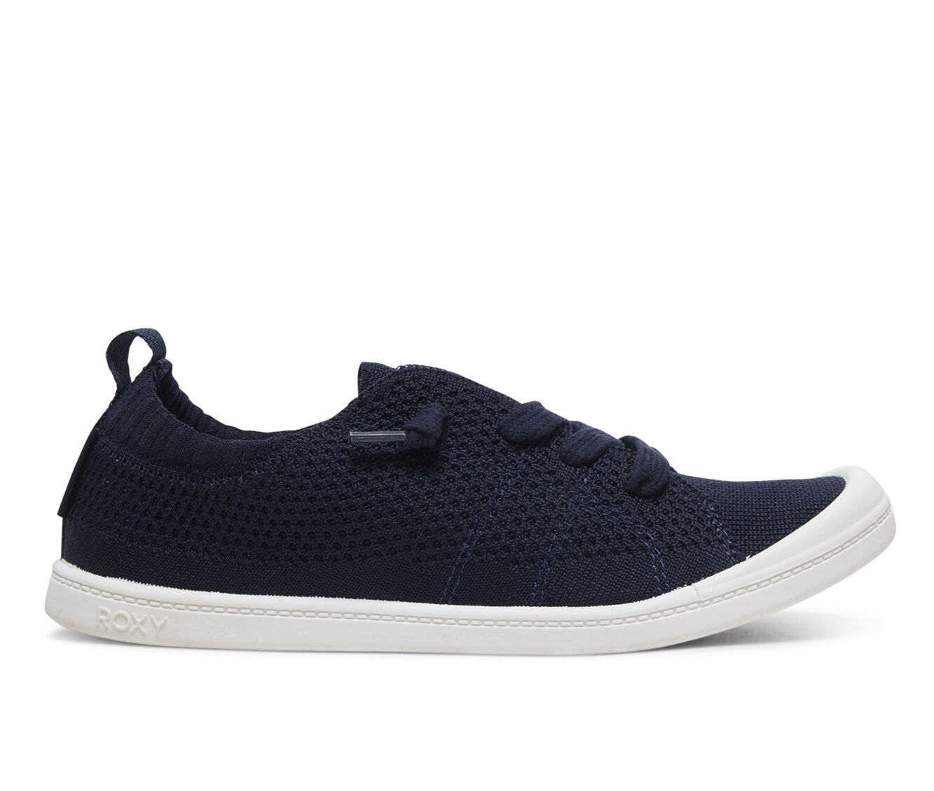 Beautifu Women's Roxy Bayshore Sneakers Navy Knit