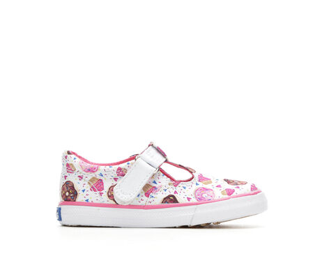 Girls' Keds Infant Daphne Cpck 5-10 Velcro T-Strap Shoes