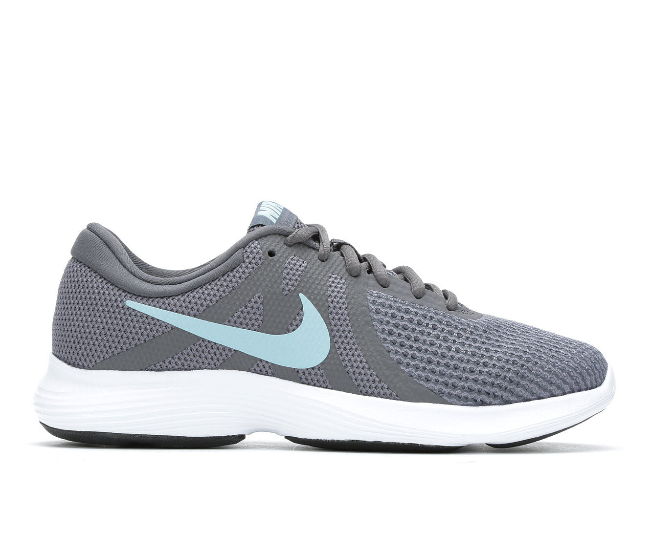 For Sale Women's Nike Revolution 4 Running Shoes Grey/Blue/Wht