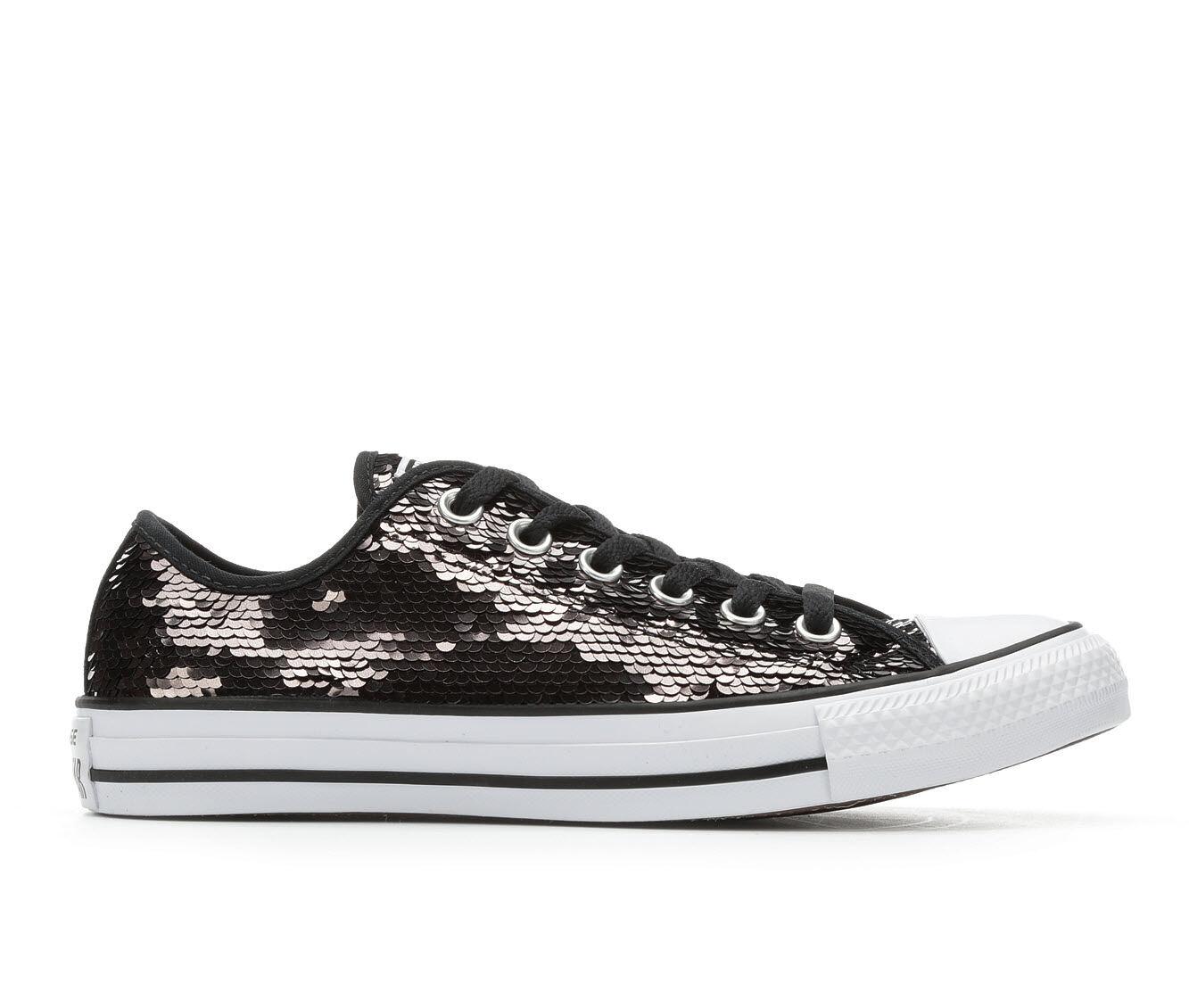 Women\u0026#39;s Converse Sequin Ox Sneakers