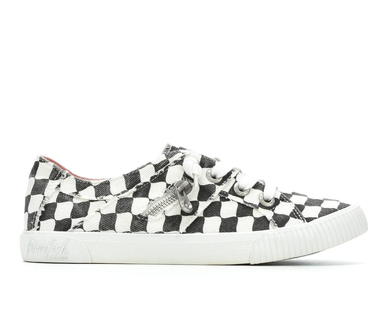 Women's Blowfish Malibu Fruit Sneakers Off White Check