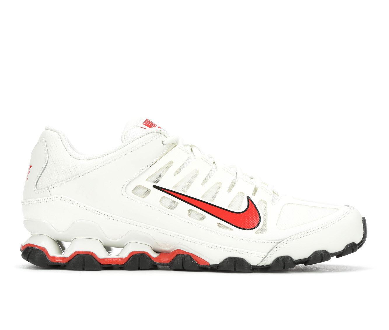 Men's Nike Reax 8 TR Mesh Training Shoes Wht/Red/Blk 100