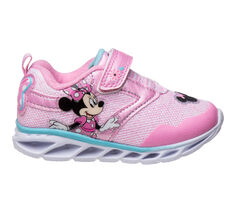 Girls' Disney Toddler & Little Kid Minnie Mouse Pink Sneakers