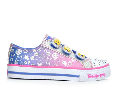 Girls' Skechers Expressionista 10.5-4 Light-Up Sneakers