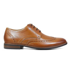 Men's Nunn Bush Fifth Ward Wing Tip Oxford Dress Shoes
