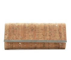 Four Seasons Handbags Cork Clutch