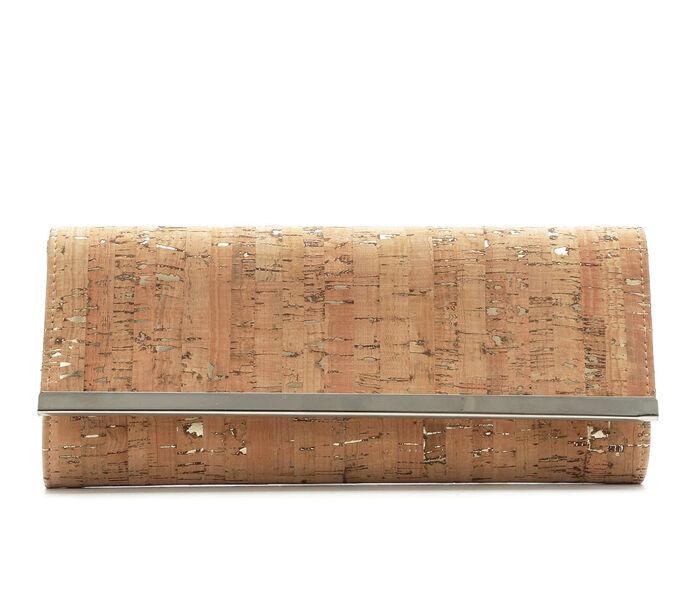 Four Seasons Handbags Cork Clutch