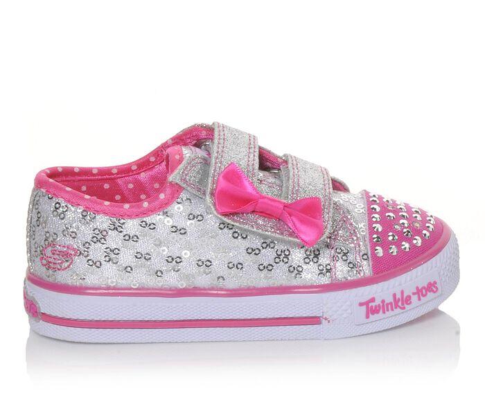Girls' Skechers Infant Shuffles Sweet Steps Sneakers