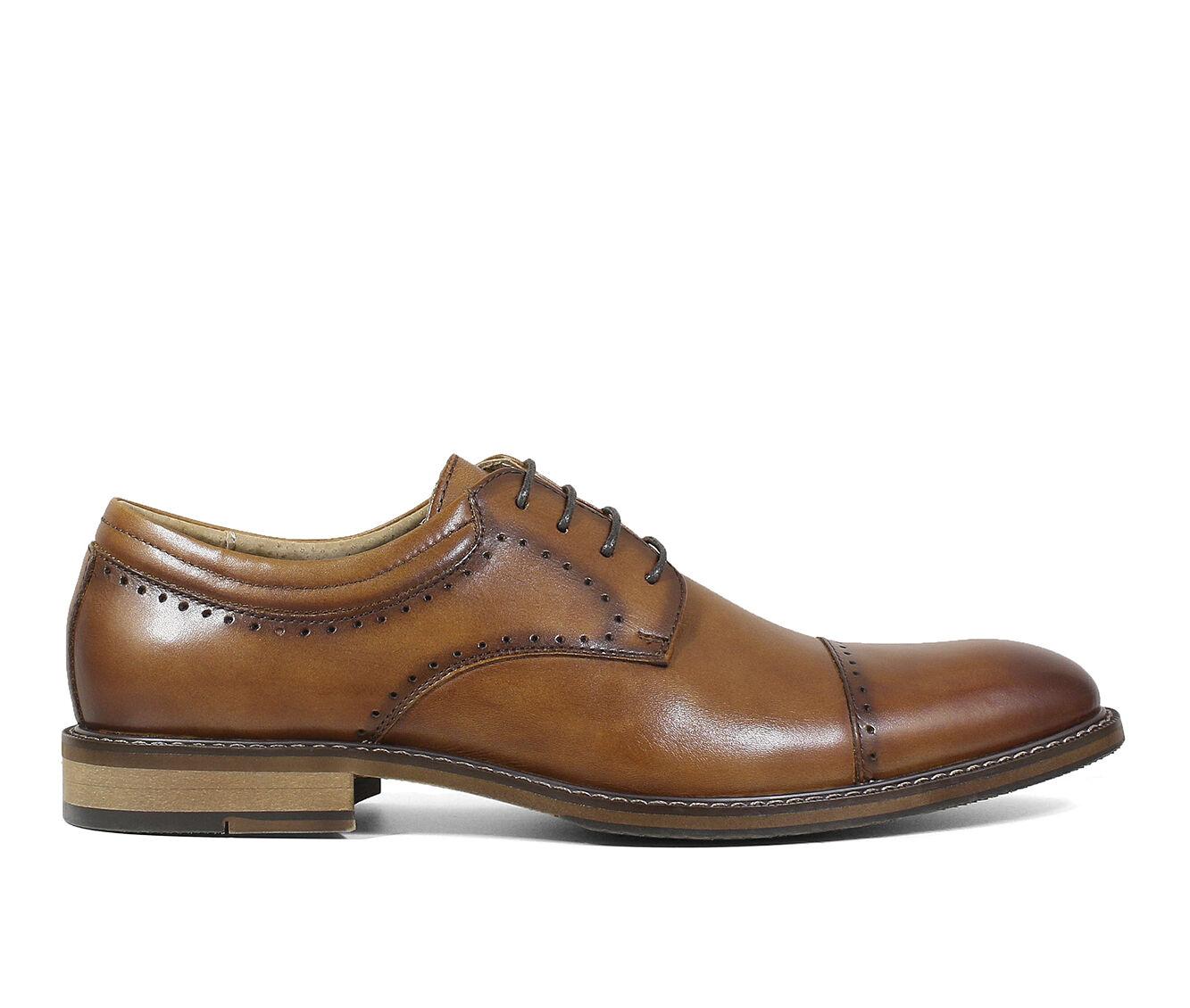 Men's Stacy Adams Flemming Dress Shoes Cognac