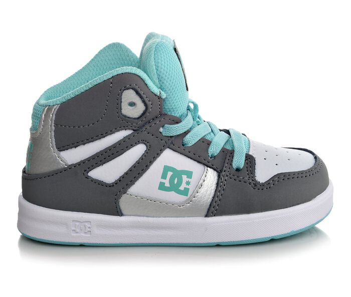 Girls' DC Infant Rebound UL Girls 5-10 Skate Shoes