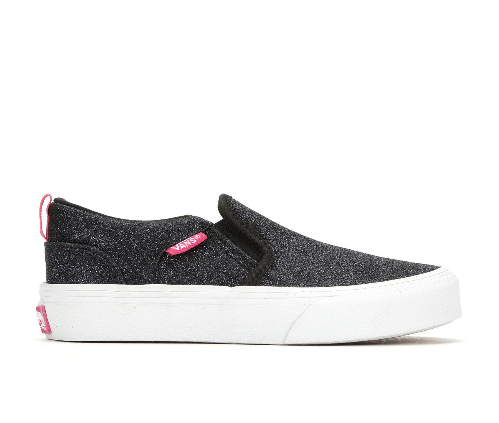 Girls' Vans Little Kid & Big Kid Asher Slip-On Skate Shoes ...