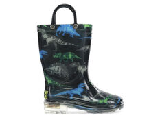 Boys' Western Chief Toddler Dinosaur Friends Rain Boots
