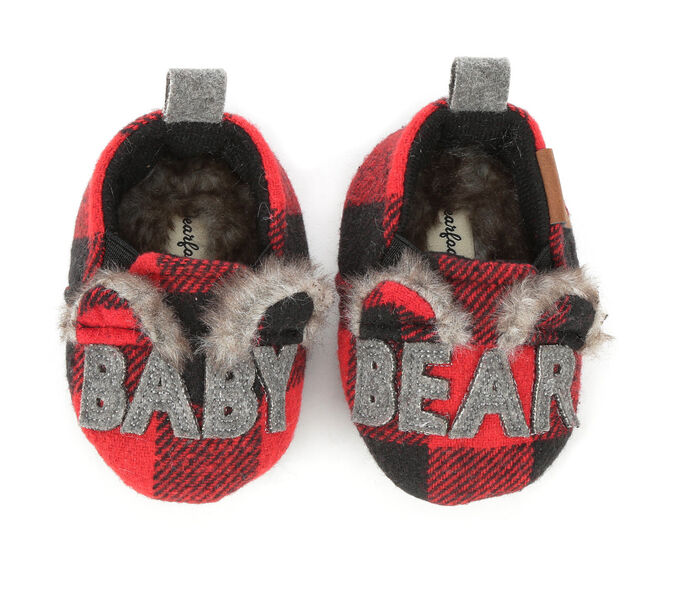 Dearfoams Infant Baby Bear Closed Back Slipper