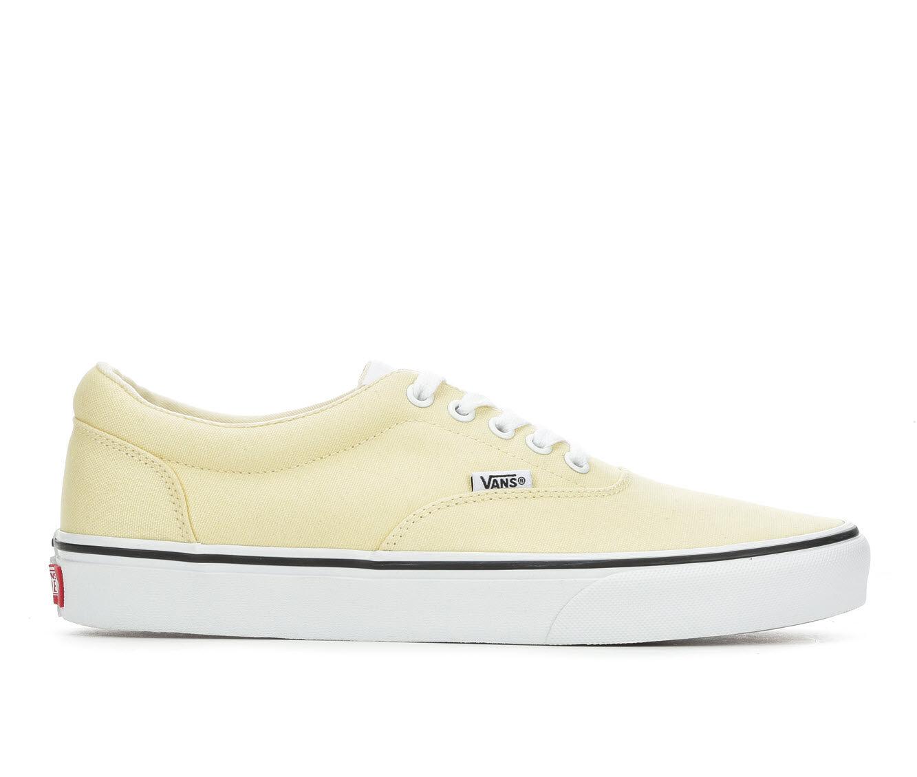 Men's Vans Doheny Skate Shoes Yellow/White