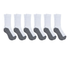 Sof Sole Socks Kids 6 Pair Crew Socks