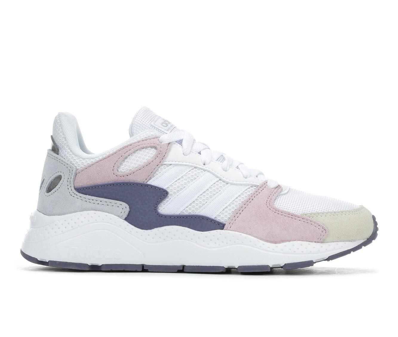 Women's Adidas Chaos Sneakers Wht/Purple/Grey