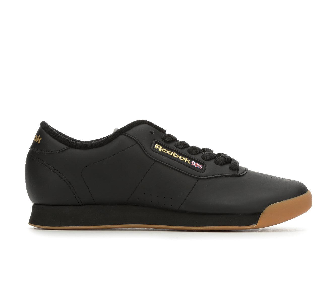 Women's Reebok Princess II Retro Sneakers Black/Gum