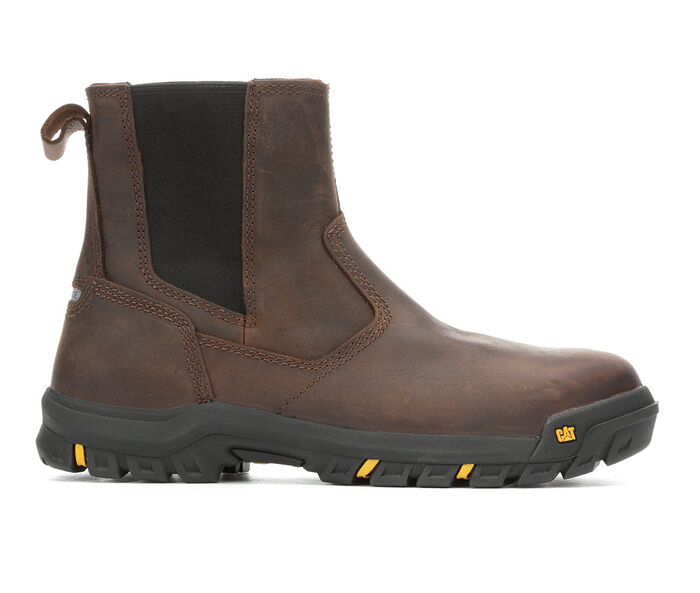 Men's Caterpillar Wheelbase Steel Toe Work Boots